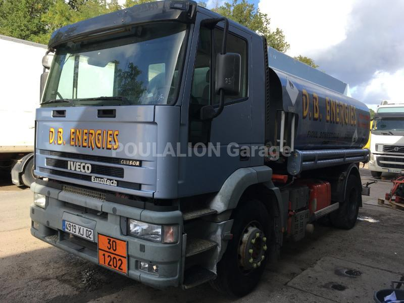 Camion Iveco Eurotech 190E31 Citerne Hydrocarbures