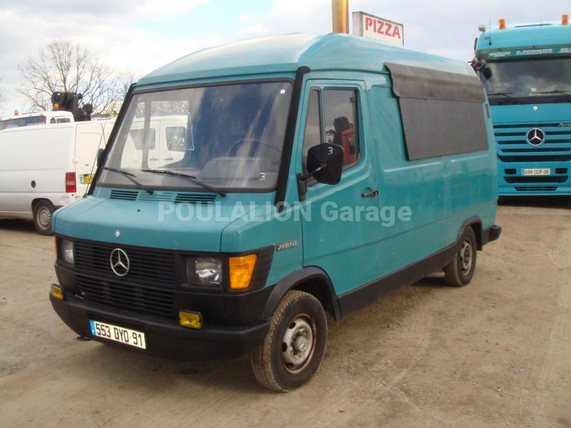 Utilitaire fourgon mercedes benz garage g rard poulalion for Garage mercedes utilitaire