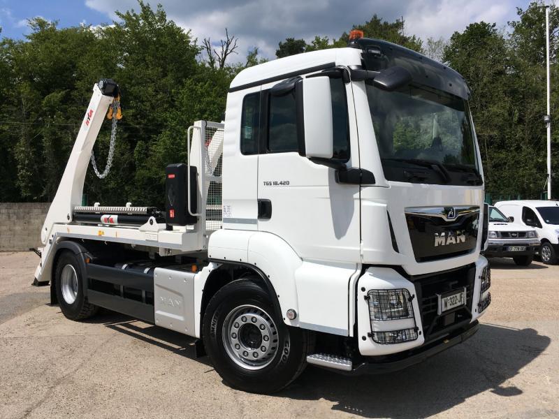 Camion MAN TGS 18.420 Multibenne