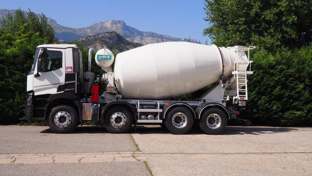 Camion Renault Gamme C 430 DXI Malaxeur toupie