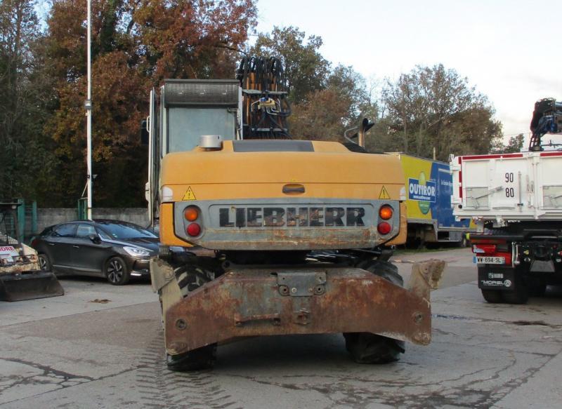 Pelle Liebherr A314 Litronic Pelle sur pneus