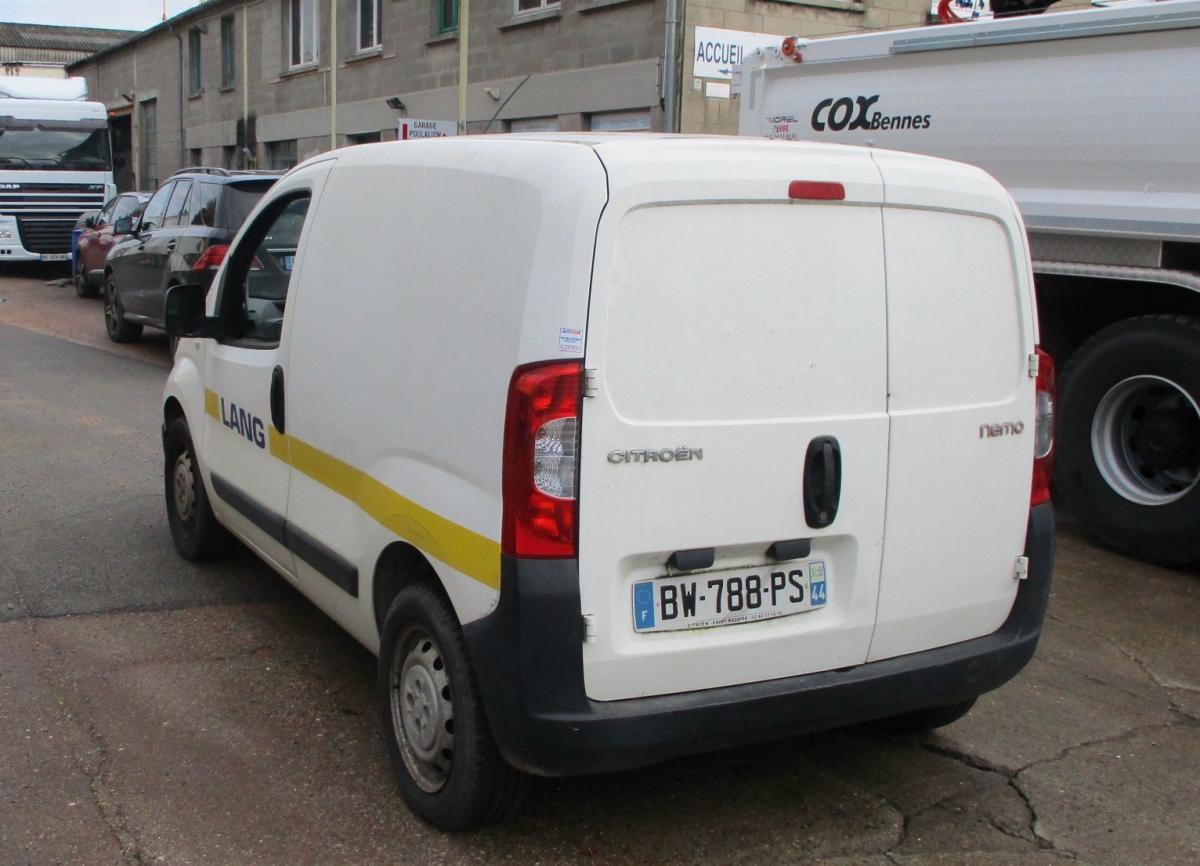 Utilitaire Citroën Nemo HDi 75 Fourgon Fourgon tôlé