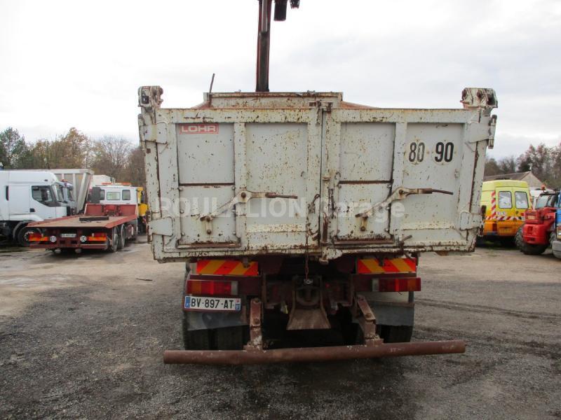 Camion Iveco Eurotrakker 350 Benne Bi-benne