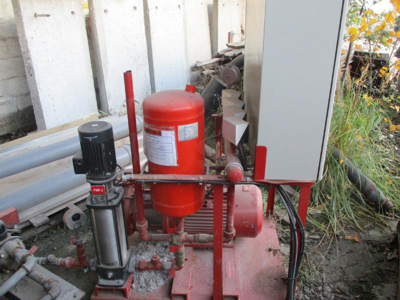 Matériel de chantier nc Moto pompe incendie Pompe