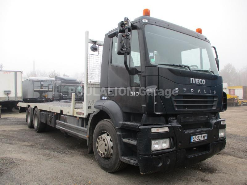 Camion Iveco Stralis 310 Porte engins