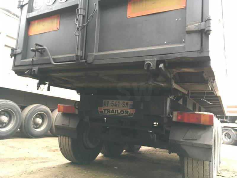 Semi-remorque Trailor S363EL Benne Benne arrière