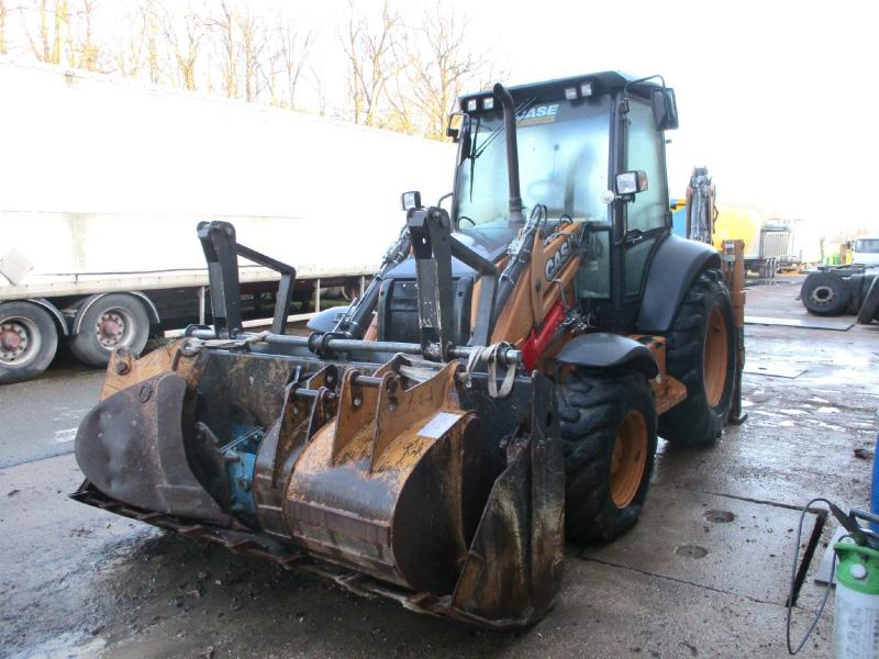 Tractopelle Case 590ST Tractopelle rigide