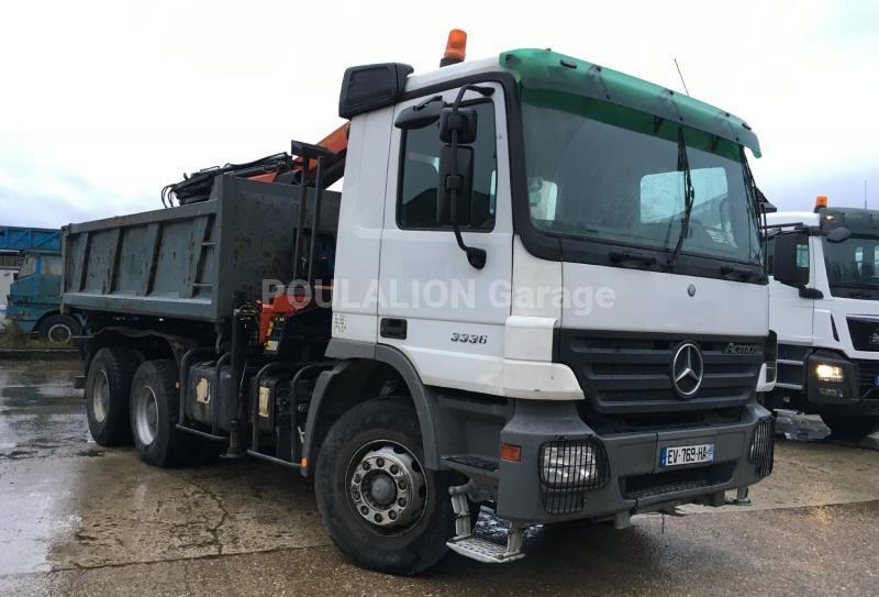 Camion Mercedes Actros 3236 Benne Bi-benne
