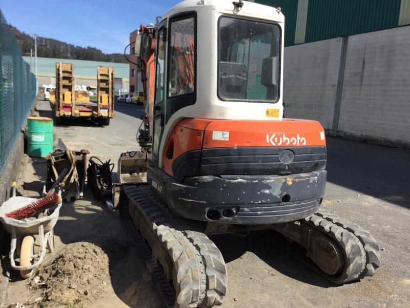 Escavatore Kubota Series U
