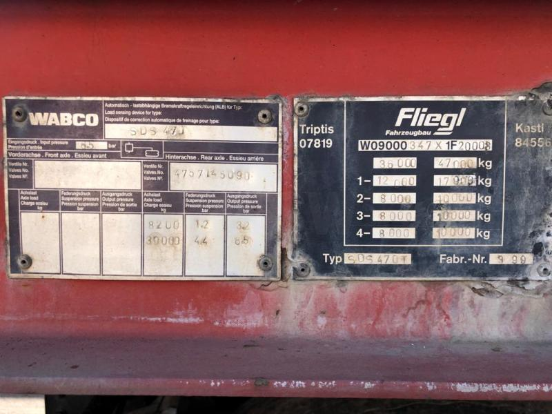 Reboque Fliegl SDS470