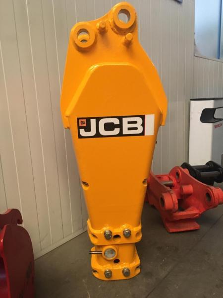 aanbouwstukken voor bouwmachines JCB