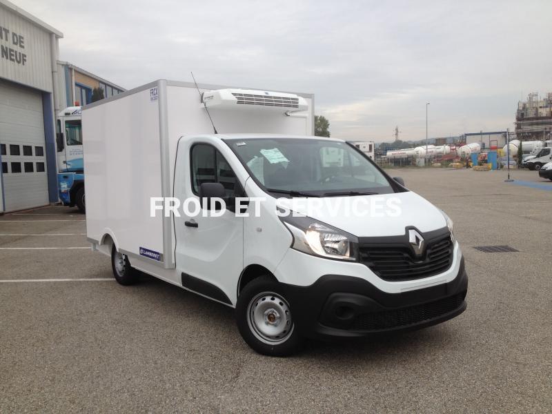 Utilitaire Renault trafic plancher cabine