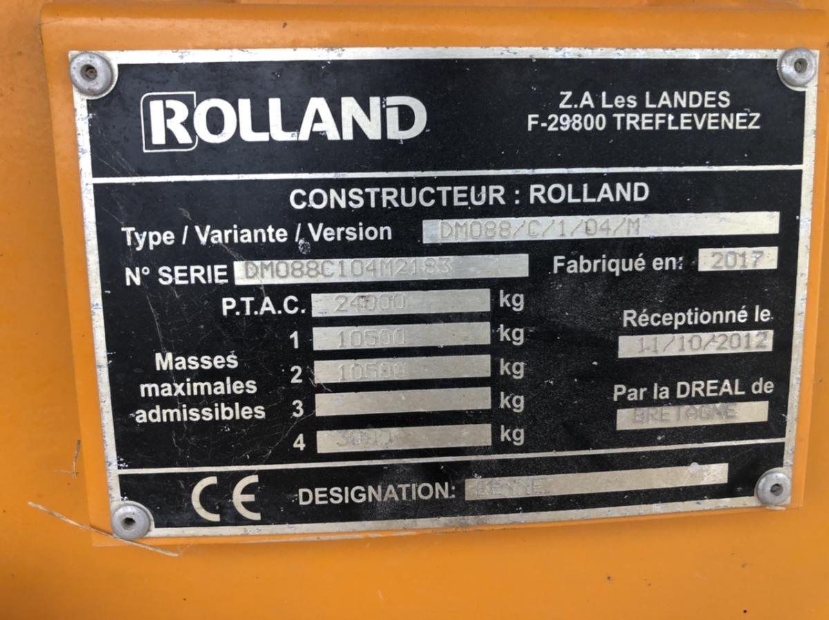 Benne Rolland ROLLROC Benne TP