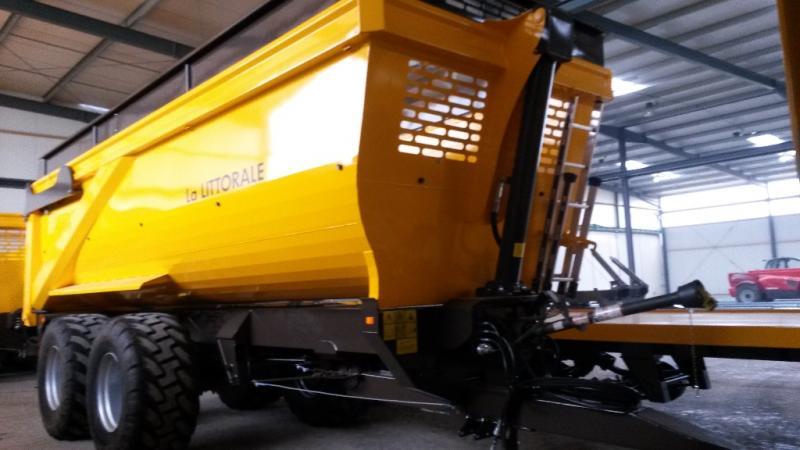 Remorque agricole La LITTORALE C290 Benne agricole