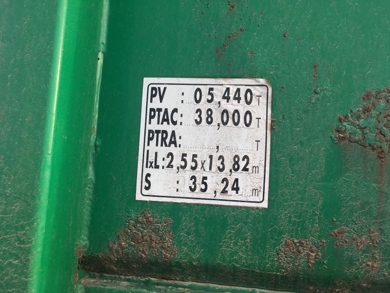 Lecitrailer PLATEAU RENFORCES EPAISSEUR 170