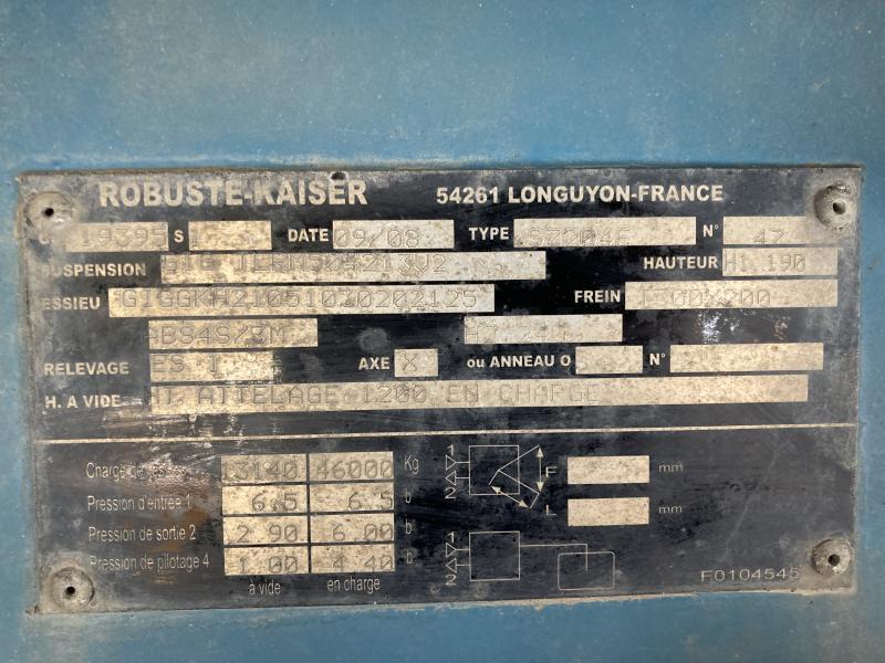 Robuste kaiser S7504F