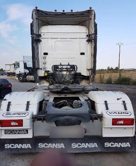 Sattelzugmaschine Scania R 580