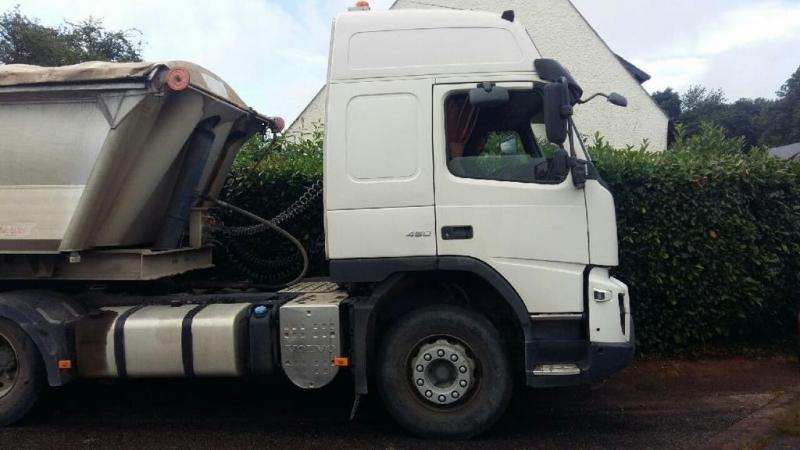 Tracteur Volvo FMX 450