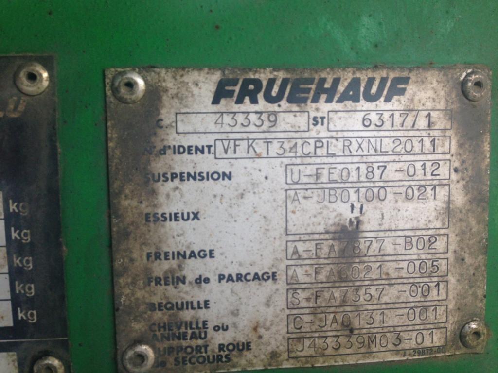 Semi-remorque Fruehauf Non spécifié