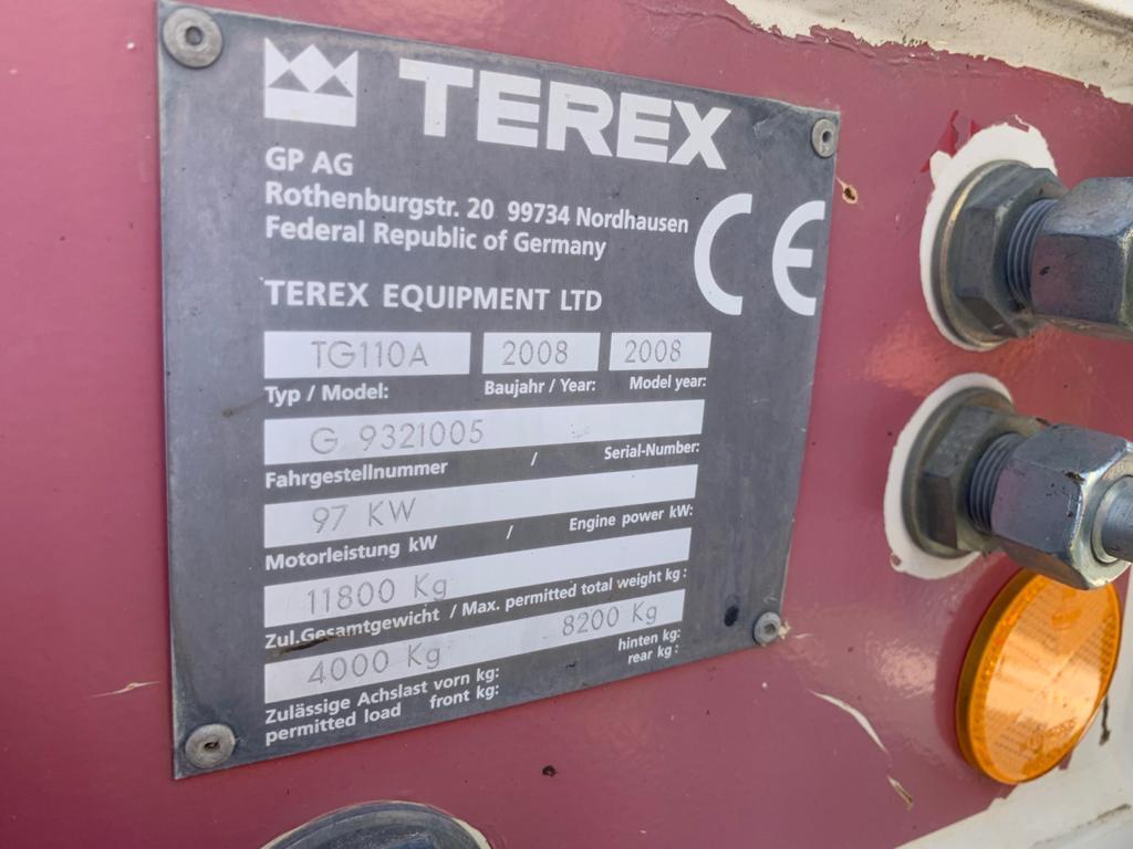 Niveleuse Terex TG110A