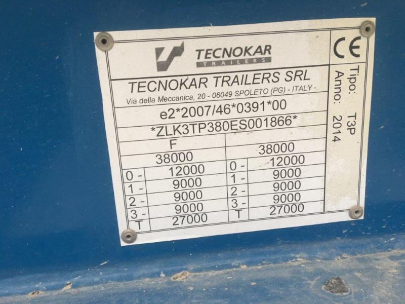 Semi-remorque TecnoKar Trailers Non spécifié