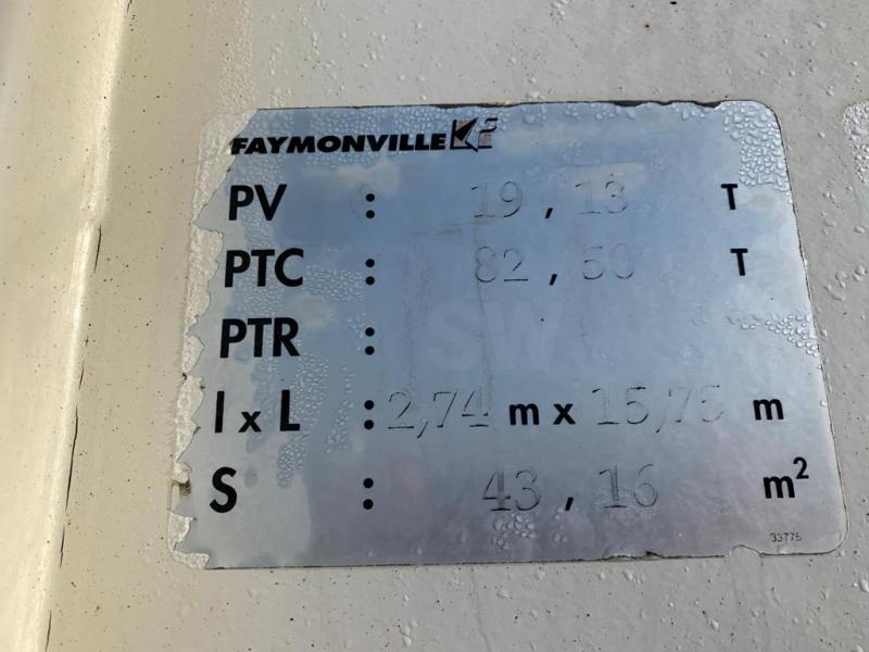 Semi-remorque Faymonville MULTIMAX