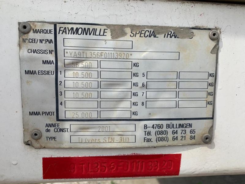 Semi-remorque Faymonville Non spécifié