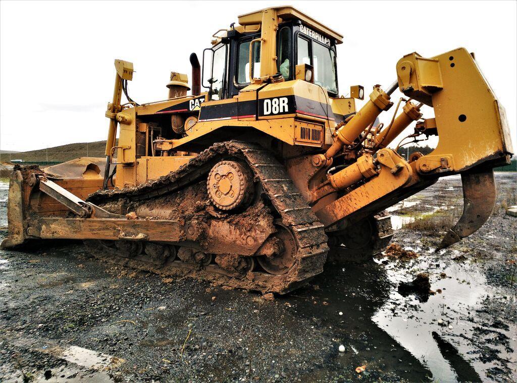 Bulldozer Caterpillar D8R
