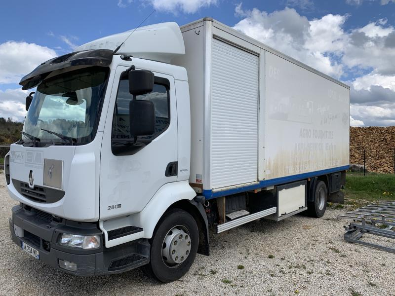 Camion Renault Midlum 280 Fourgon