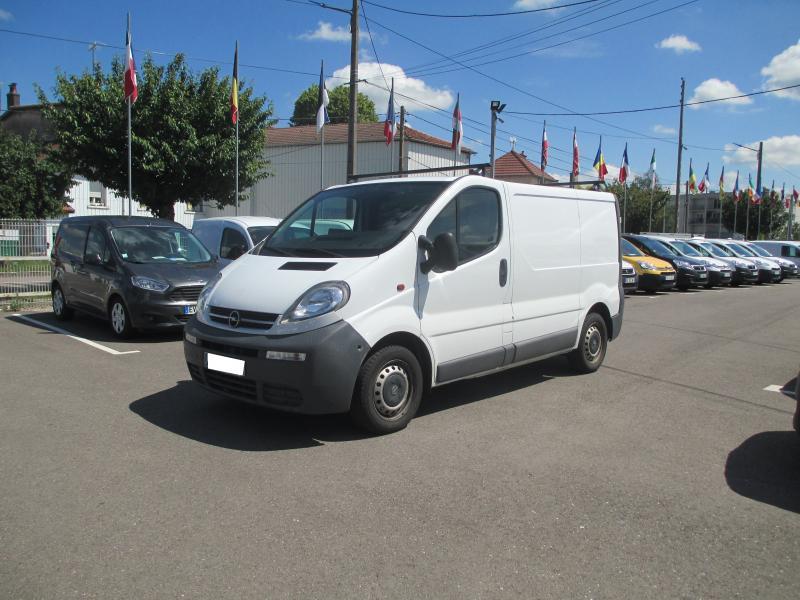 Utilitaire Opel Vivaro Fourgon Fourgon tôlé