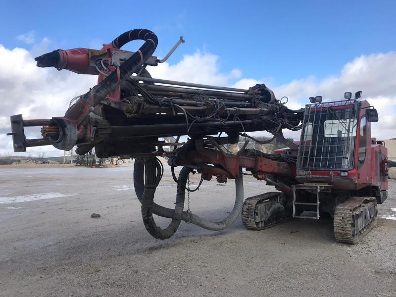 Forage, battage, tranchage Sandvik DP1100