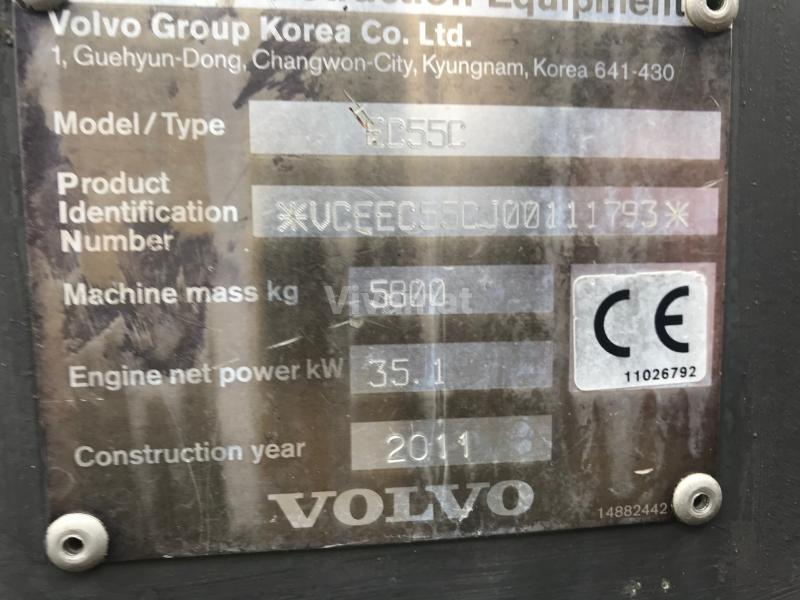 Schaufellader Volvo EC55 C