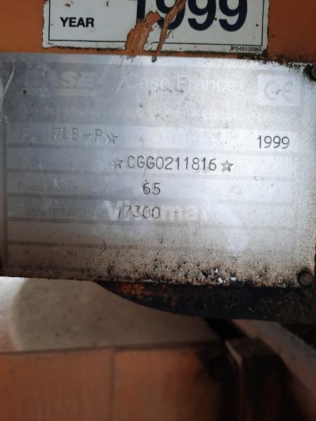 Schaufellader Case 788