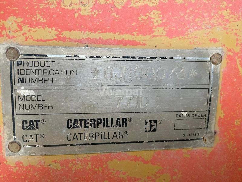 Tombereau Caterpillar 771D