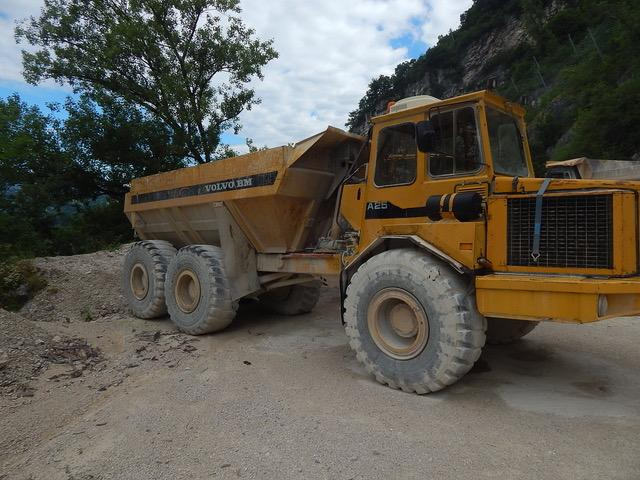 Tombereau Volvo A 25