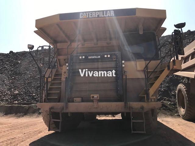 Tombereau Caterpillar 777F
