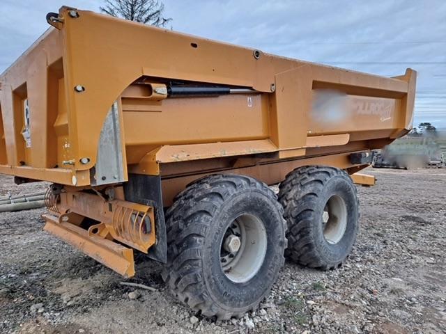 Remorque agricole Rollrock 5800
