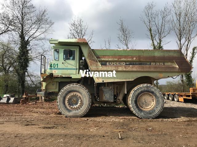 Dumper Euclid Hitachi R 35