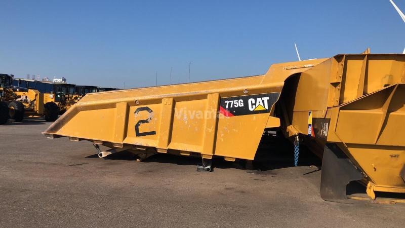 Attrezzature per macchine movimento terra BENNE CAT 775G 775G body