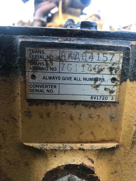 Pièces détachées Transmission CATERPILLAR 769 C Cat 769 C