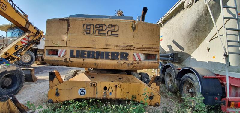 Pelle Liebherr A922 Litronic