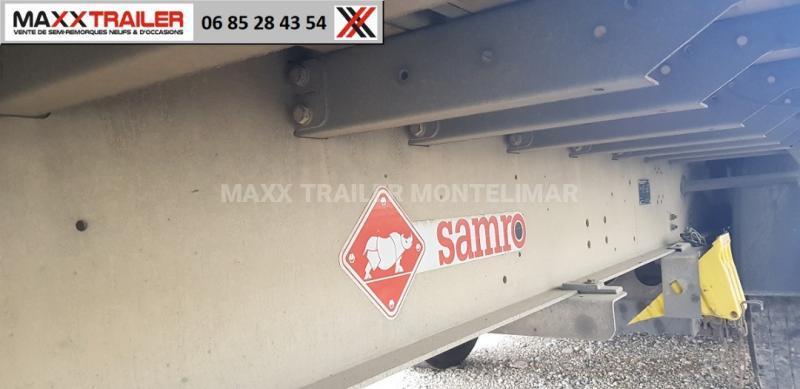 Semi-remorque Samro RECONDITIONNE DISPO IMMEDIATE MINES UN AN