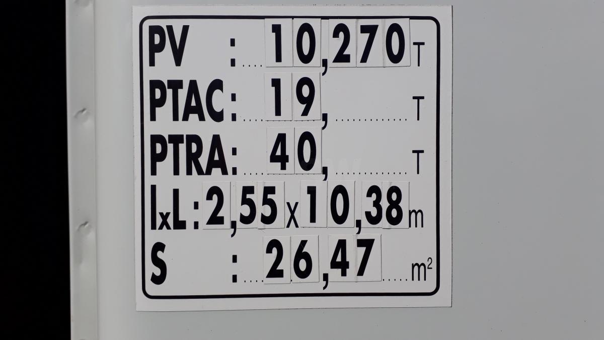 Fourgon Iveco Stralis AD 190 S 31 P