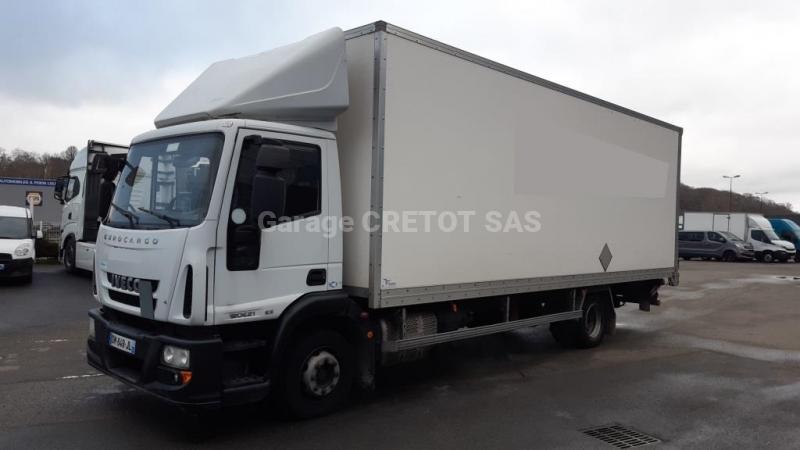 Camion Iveco Eurocargo ML 120 E 21 P Fourgon Déménagement