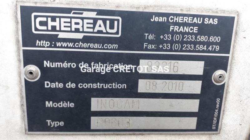 Frigo Chereau CD382CFHB Mono température