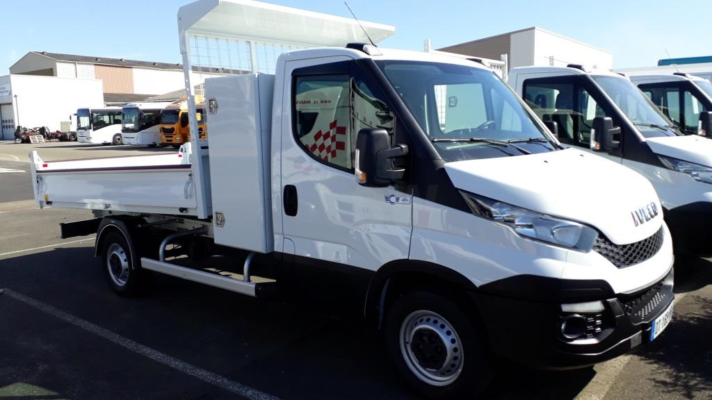 Utilitaire Iveco Daily 35S13 Benne Benne arrière