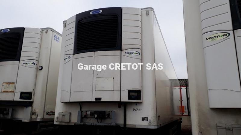 Semi-remorque Chereau SREM CSD3 Frigo Mono température
