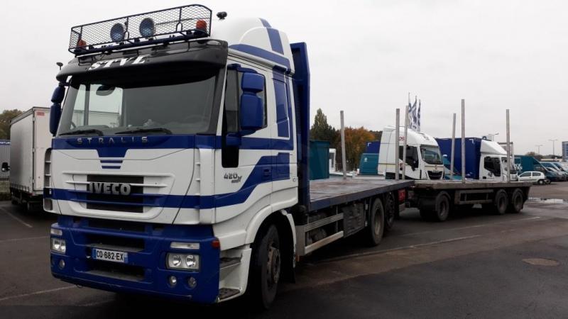 Camion remorque Iveco Stralis AS 260 S 42 Y/PS Véhicules spéciaux Grumier