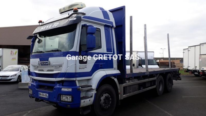 Camion remorque Iveco Trakker AT 410 T 50 P Véhicules spéciaux Grumier
