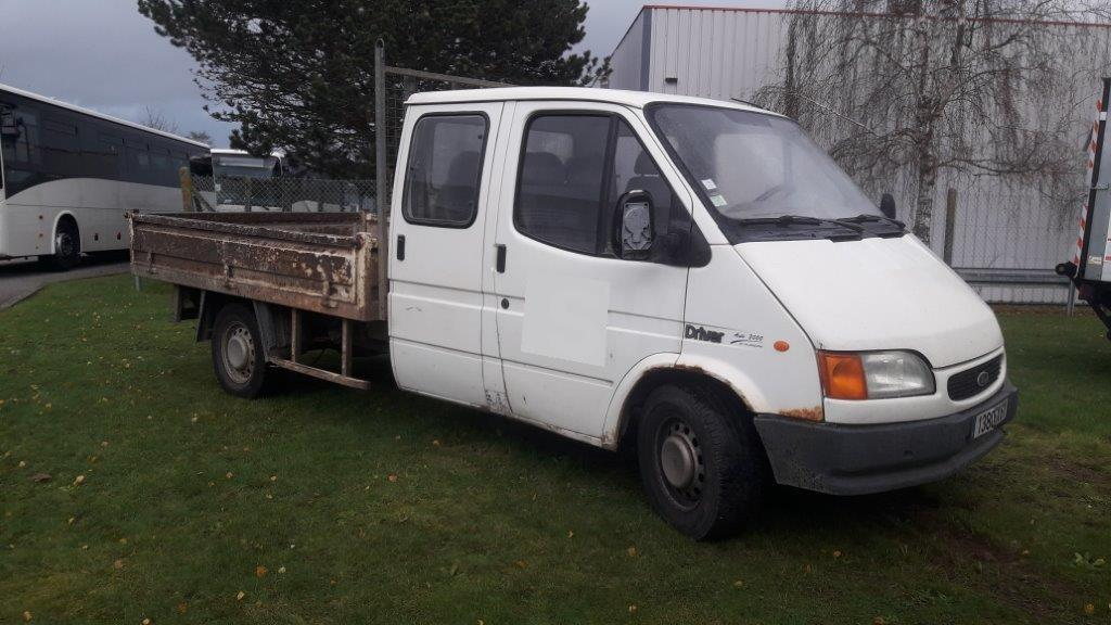 Utilitaire Ford Transit Plateau